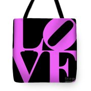 Love 20130707 Violet Black Tote Bag by Wingsdomain Art and Photography