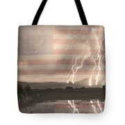 Love For Country Tote Bag by James BO  Insogna