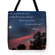 Love From The Soul Tote Bag by Bill Wakeley