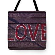 Love Tote Bag by Garry Gay