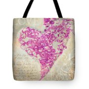 Love Is A Gift Tote Bag by Fran Riley