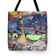 Love Is Abundant Tote Bag by Jen Norton