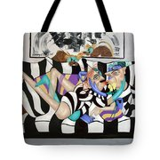 Love Makes The World Go Round Tote Bag by Anthony Falbo