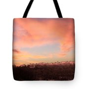 Love Sunset Tote Bag by Augusta Stylianou