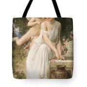 Loves Whisper Tote Bag by Charles Lenoir
