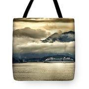 Low Clouds - Half Speed Tote Bag by Jon Berghoff