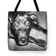 Loyal Friend Tote Bag by Shawna Rowe