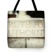 Lucretia Mott Truth For Authority Tote Bag by Lisa Russo