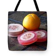 Luffa Red And Pink Soap Tote Bag by Anastasiya Malakhova