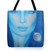 'lunarium' Tote Bag by Christian Chapman Art