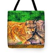Lynx Tote Bag by George Rossidis
