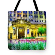 Lyric Opera House Of Chicago Tote Bag by Ely Arsha