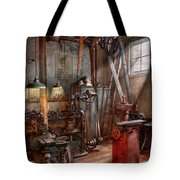 Machinist - The Modern Workshop  Tote Bag by Mike Savad