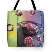 Mad Art Tote Bag by Liane Wright