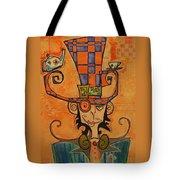 Mad Hatter Tote Bag by Ellen Henneke