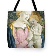 Madonna And Child Tote Bag by Domenico Veneziano