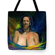 Madonna Tote Bag by Kd Neeley