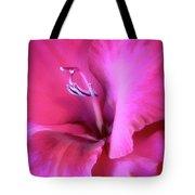 Magenta Splendor Gladiola Flower Tote Bag by Jennie Marie Schell