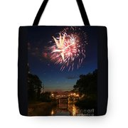 Magic in the Sky Tote Bag by Paula Guttilla