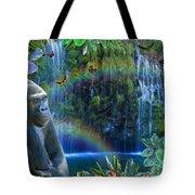 Magic Jungle Tote Bag by Alixandra Mullins
