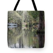 Magnolia Plantation Gardens Series II Tote Bag by Suzanne Gaff