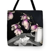 Magnolia Still Tote Bag by Diana Angstadt