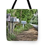 Mail Route Tote Bag by Scott Pellegrin