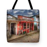 Main Street Tote Bag by Debra and Dave Vanderlaan