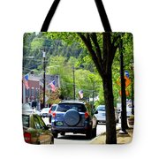 Main Street Tote Bag by Patti Whitten
