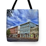 Main Street Usa Tote Bag by Tom Mc Nemar