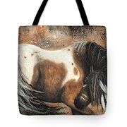 Majestic Horse Series 74 Tote Bag by AmyLyn Bihrle