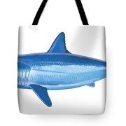Mako Shark Tote Bag by Carey Chen