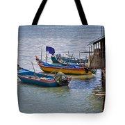 Malaysian Fishing Jetty Tote Bag by Louise Heusinkveld