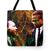 Malcolm and The King 20140205 Tote Bag by Wingsdomain Art and Photography