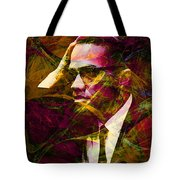 Malcolm X 20140105 Tote Bag by Wingsdomain Art and Photography