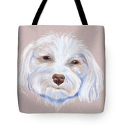 Maltipoo With An Attitude Tote Bag by MM Anderson