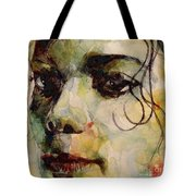 Man In The Mirror Tote Bag by Paul Lovering