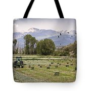 Mancos Colorado Landscape Tote Bag by Janice Rae Pariza