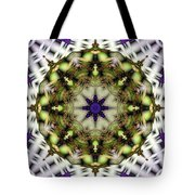 Mandala 21 Tote Bag by Terry Reynoldson