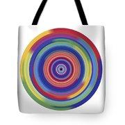 Mandala 3 Tote Bag by Rozita Fogelman