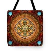 Mandala Arabia Sp Tote Bag by Bedros Awak