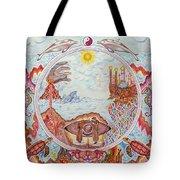 Mandala Atlanits Tote Bag by Lida Bruinen