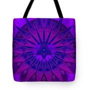 Mandala For Ca Symptoms Tote Bag by Sarah  Niebank