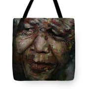 Mandela   Tote Bag by Paul Lovering