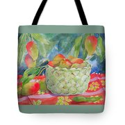 Mango Harvest Tote Bag by Kathleen Rutten