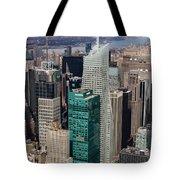 Manhattan Bryant Park Aerial Tote Bag by Jannis Werner