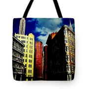 Manhattan Highlights Tote Bag by Benjamin Yeager