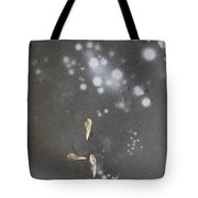 Maple Seeds On Ice Tote Bag by Steven Ralser