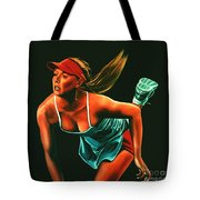 Maria Sharapova  Tote Bag by Paul  Meijering