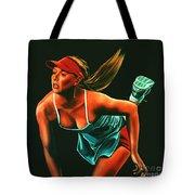 Maria Sharapova  Tote Bag by Paul Meijering